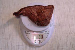 Легкое говяжье сушеное 23 грамма