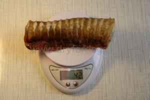 Трахеи говяжьи сушеные 42 грамма
