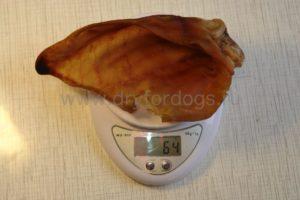 Свиное ухо сушеное 64 грамма